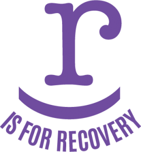 R is For Recovery Logo