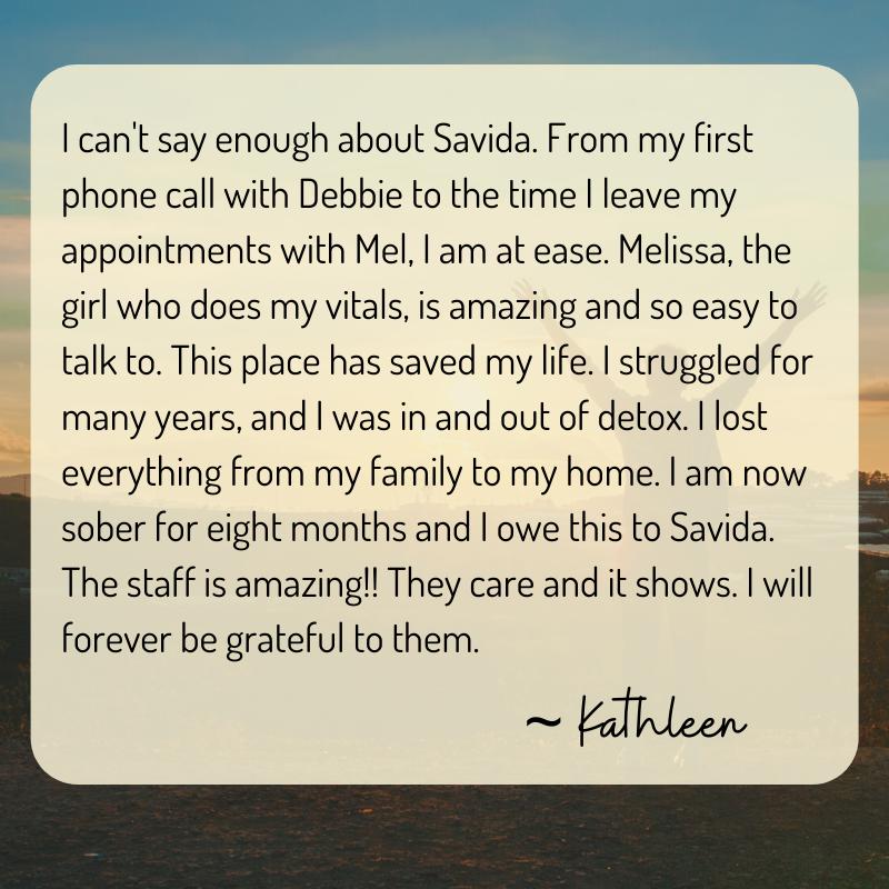 Patient Testimonials Kathleen