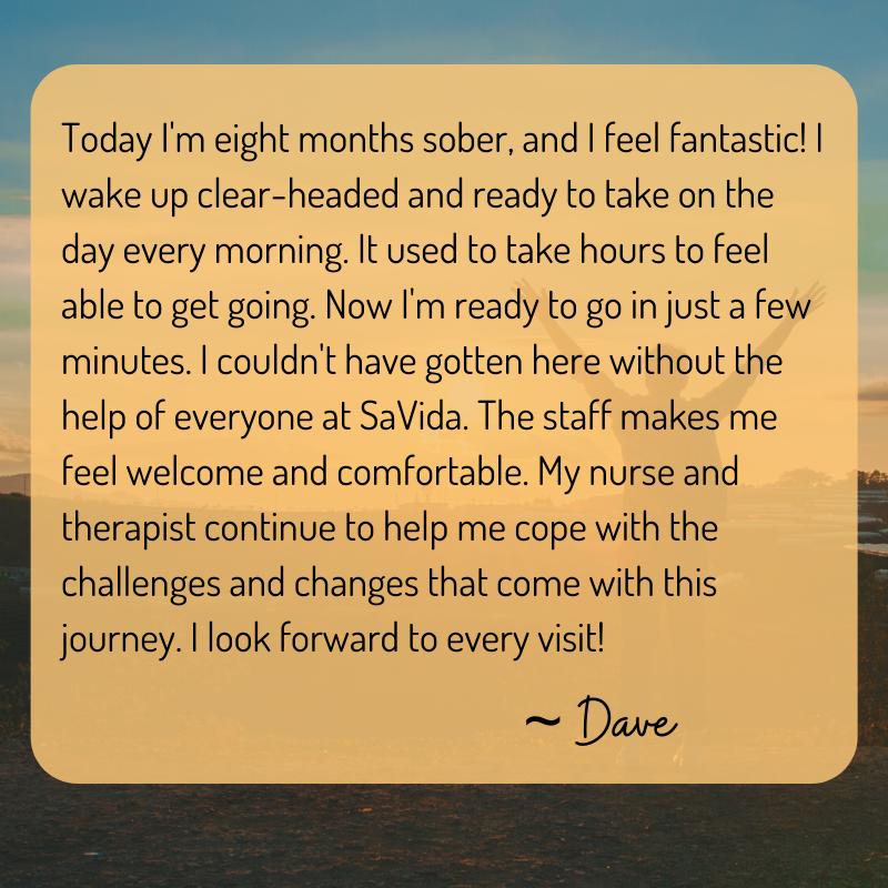 Patient Testimonial Dave